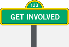 Get Involved Sign